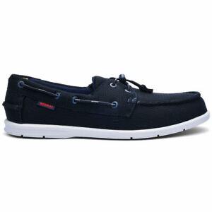 7 UK Uomo Blue Navy 908 Men/'s 70014Z0 Boat Shoes Sebago Naples Tech
