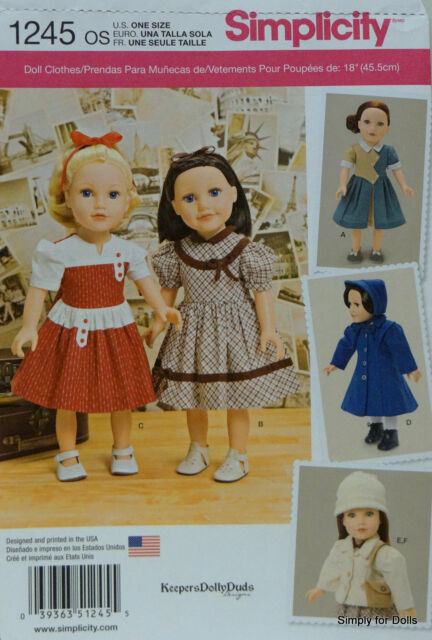 Doll pattern collection on eBay!