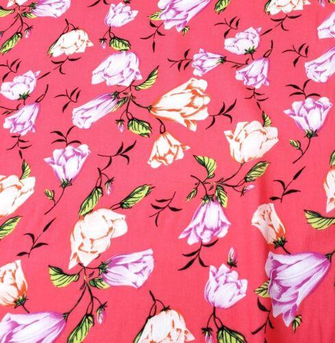 dress fabric per metre /'Ferndale G/' womenswear Viscose Fabric 100/%