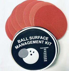 EMAX-Bowling-Ball-Surface-Management-Kit-Schleifset-Zubehoerset