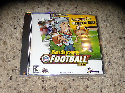 Backyard Football 2002 (PC, 2001) New and Sealed in jewel ...
