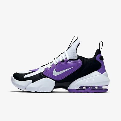 Chaussures Nike Homme Air Max Alpha Savage AT3378 510 Blanc Violet Original   eBay