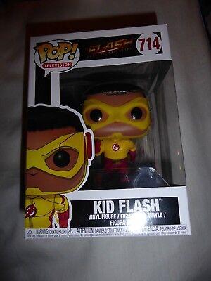 & Nuovo Di Zecca Non Aperto Funko Pop! #714 Kid Flash (il Flash) Dc-mostra Il Titolo Originale