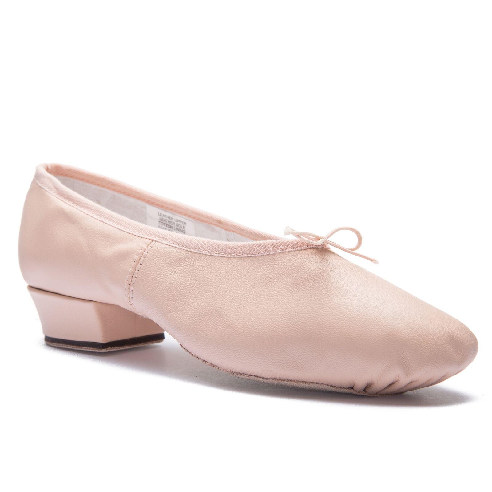 Bloch 0427L Paris Damen Unterricht Trainer Ballett Tanz Leder Leder Leder Schuhe Rosa 56b2fc