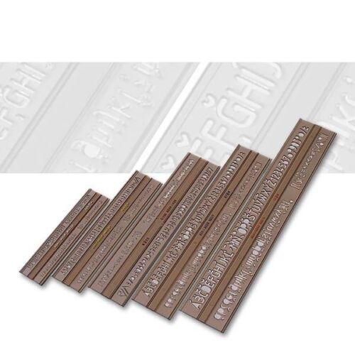 Koh-I-Noor 750044 Schriftschablone 5er Set ISO 309