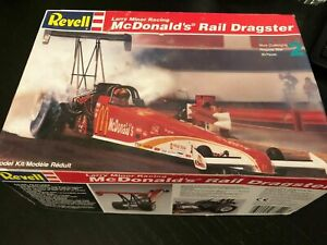 Revell Larry Minor Racing Mcdonald's Rail Dragster Model Kit #7354 1 25