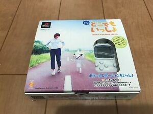 Sony-PocketStation-PlayStation-PS-Dokodemo-isshlo-BOX-and-Manual-Japan