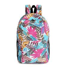 Women Girl Canvas Backpack Shoulder Bookbags Rucksack Travel Leisure School Bags