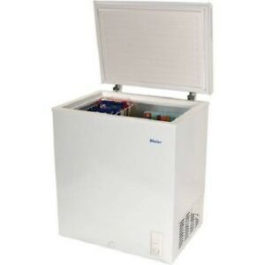 Chest Deep Freezer Upright Compact Small Dorm Apartment Home White ...