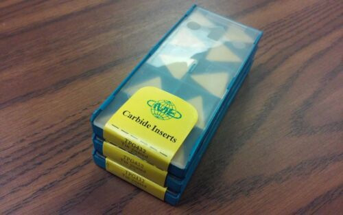 30pcs TPG432 Carbide Inserts Tin Coated  free shipping-new
