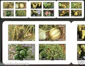 CARNET-12-TIMBRES-FRUITS-2012-EN-NON-DENTELE-ACCIDENTEL-COTE-500