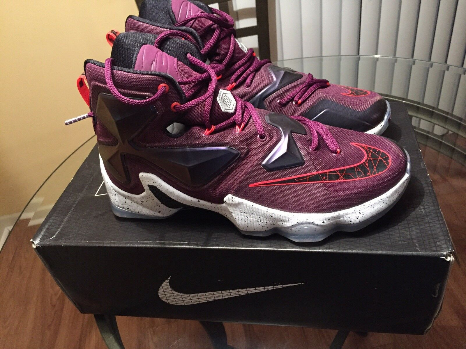 Pre-owned Nike Zoom Lebron XIII Size 9.5