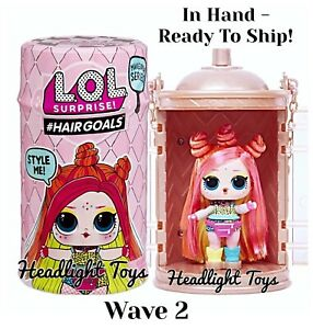 Details About 1 Lol Surprise Makeover Series 5 Wave 2 Hairgoals Doll Big Sister Holiday Omg