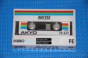 MAGNEX CHROMDIOXIDE 60 audiokassette cassette audio tape sealed