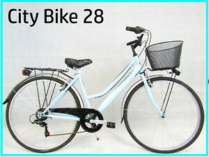 bicicletta-per-donna-bici-da-passeggio-city-bike-28-trekking-colore-azzurro-6v