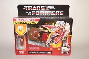 Transformers walmart exclusive titans return CHROMEDOME -rare complete lot #1317