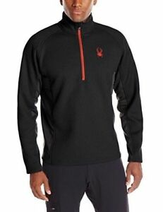 4-Colors-NEW-Spyder-Men-039-s-Outbound-Half-Zip-Fleece-Jacket-Coat-Sz-M-L-XL-2XL