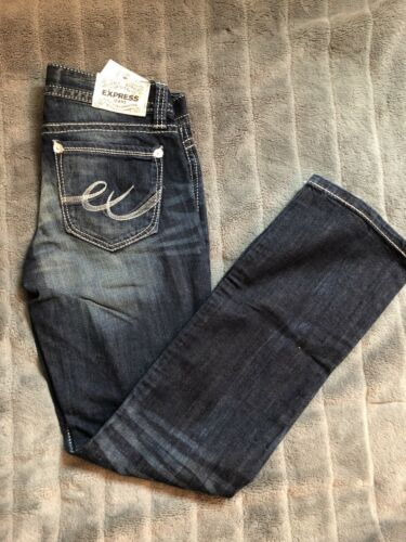 Nwt Taille Express Boot Jeans 0 Barely qRXw754