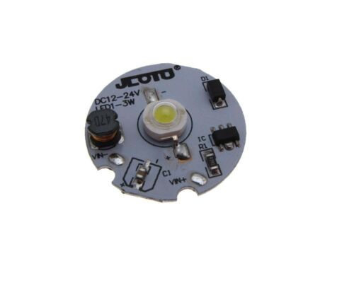 1W Power LED Aluminum Breakout w// Constant Current Drive 12VDC Blue