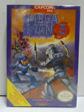 MEGA MAN 3 - MEGAMAN 3 - CAPCOM NINTENDO NES NTSC USA VERSION BOXED RARE
