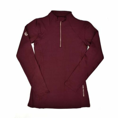 NEW WHITAKER LEGEND BASE-LAYER BURGUNDY BREATHABLE ALL SIZES