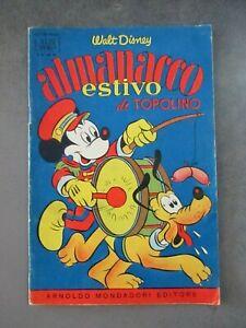 ALMANACCO ESTIVO DI TOPOLINO 1956 - ALBI D'ORO 28 - WALT DISNEY MONDADORI