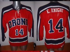 ORONO CCM Adult Small E.KNIGHT Ice Hockey Shirt Jersey NHL Top Maine Trikot