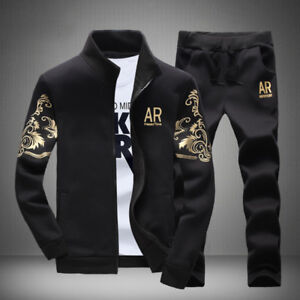 2Pcs-Set-Men-Sports-Pants-Sweatshirt-Casual-Tracksuit-Stylish-Sports-Wear-Suit