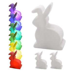 3-x-LED-Deko-Lampe-HASE-mit-Farbwechsler-inkl-Batterie-Osterhase-Osterdeko-Hase