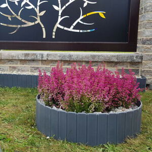Rasenkante Gartenpalisade Beetumrandung Beeteinfassung 4 Farben TOP NEUHEIT! 5m
