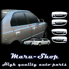 Chrome Door Handle Catch Cover Trim for 00~05 Hyundai Accent/Verna