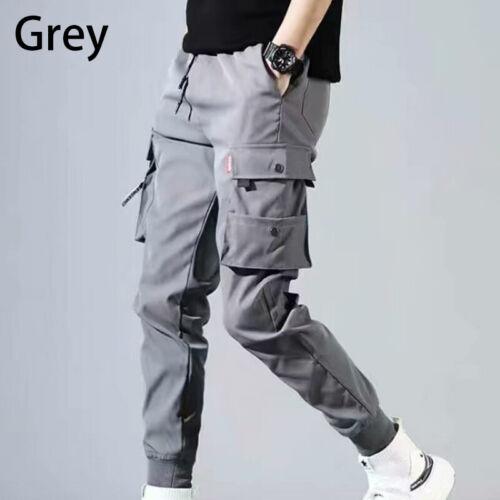 Men/'s Harajuku Hip Hop Harem Pants Fashion Street Cargo Pants Casual Trousers