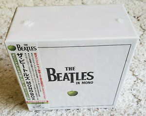 THE-BEATLES-IN-MONO-2009-REMASTERS-EMI-MUSIC-JAPAN-13-CDs-NEW-amp-SEALED