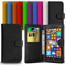 Custodia Case Flip Cover Pelle Portafogli Libro Per Nokia Lumia 930 + Pellicola