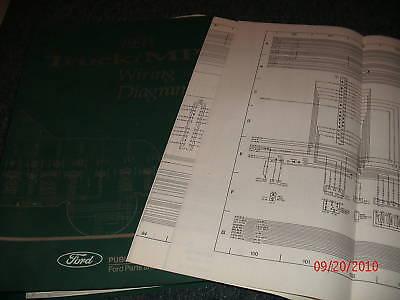 1993 ford cargo wiring diagrams manual set oem ebay. Black Bedroom Furniture Sets. Home Design Ideas