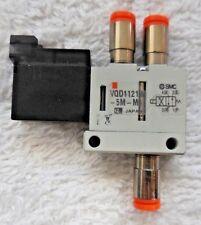SMC VQD1121W-5M-M5, 24 VDC, 1W, 0.1-0.7MPa, Valve
