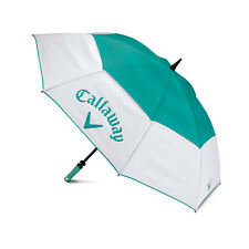 "Callaway Golf 60"" Uptown Double Canopy Umbrella, Brand NEW"