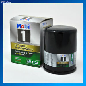 Mobil 1 Oil Filter >> Details About Mobil 1 Genuine New M1 110a Extended Performance Oil Filter 2 Free Gloves