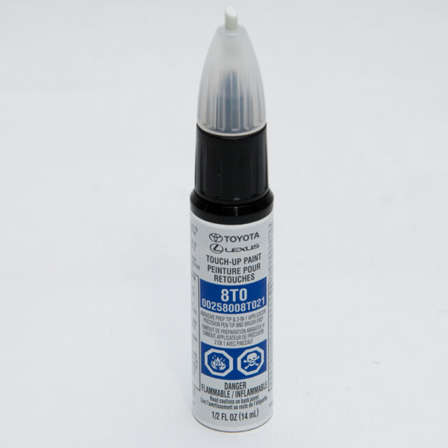 Blazing Blue Pearl 8t0 Touch up Paint Genuine Toyota OEM 00258-008t0-21