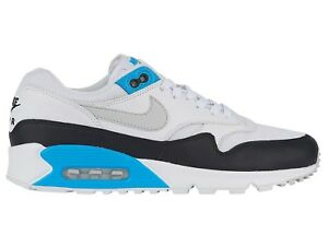 best service d0ff3 1539c Image is loading Nike-Air-Max-90-1-Laser-Blue-Mens-