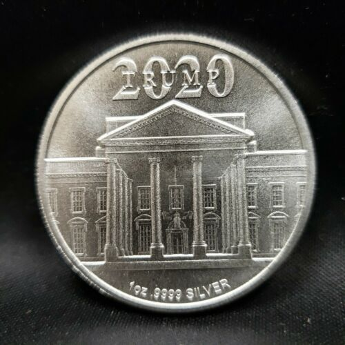 Details about  /1 Troy oz of .9999 Silver President Donald Trump 2020 MAGA T-20