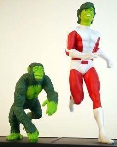 9 Scale Polystone Statue Icon Heroes DC Teen Titans Starfire 1