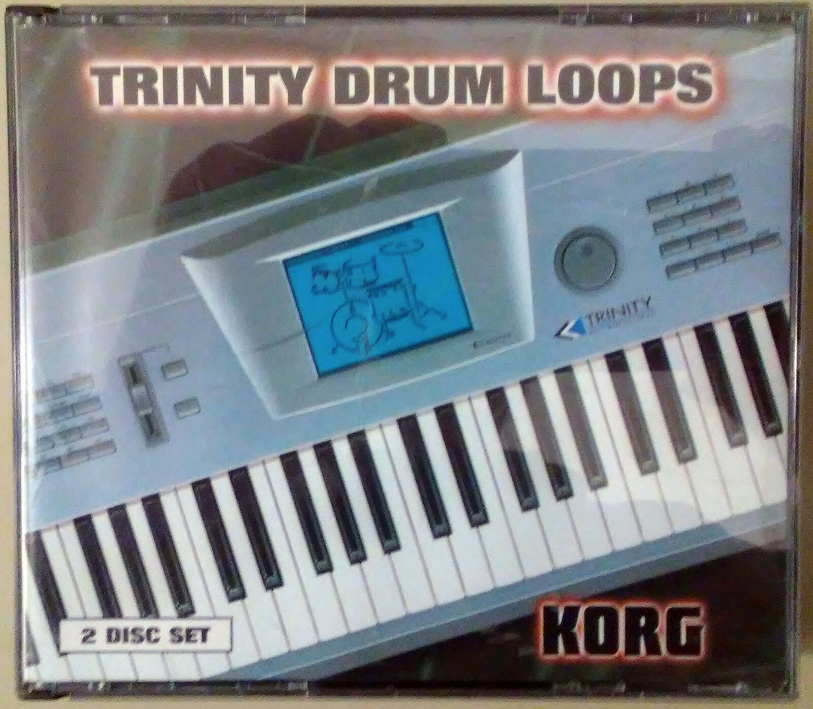 Korg Trinity Drum Loops 2 Disc Set - Rare