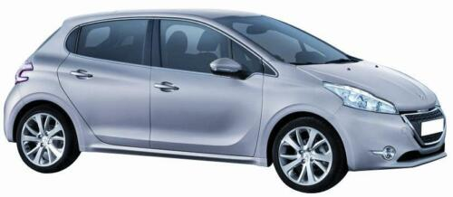 Peugeot 2008 dal 06.2013/> Calotta Sx Nera per Specchietto Retrovisore