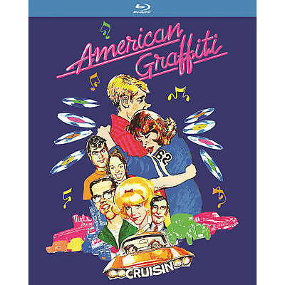 American Graffiti  (Blu-ray)  Pop Art Packaging New, Free Shipping