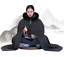 thumbnail 7 - 10 Color Winter Buddhist Meditation Shaolin Monk Kung Fu Double Plush Robe
