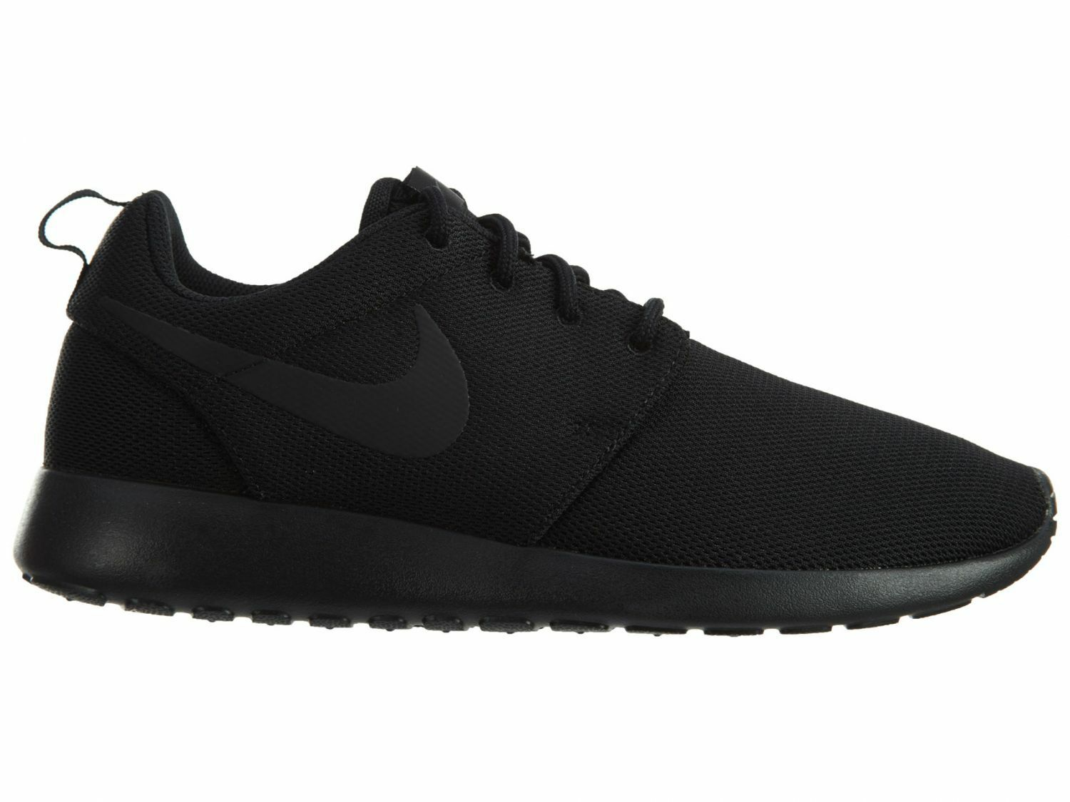 Nike Roshe One Womens 844994-001 Black Mesh Running Training shoes Wmns Size 7.5