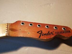 1971 Fender Telecaster Usa Maple Neck-afficher Le Titre D'origine Egveebo2-07161002-532537659