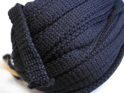 8 mm breit, 100/%PES 50 Meter Flachkordel