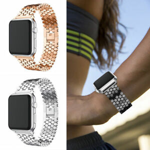 New-Fitbit-Versa-Replacement-Bling-Stainless-Steel-Wrist-Band-watch-Strap-Clasp